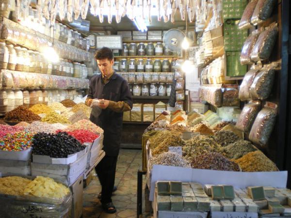 У этого продавца я купил оливковое мыло