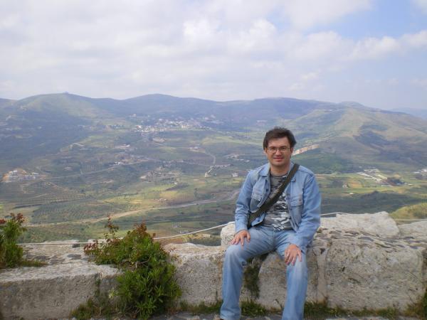 На вершине Крак де Шевалье