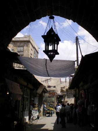 Торговая улочка в старом городе