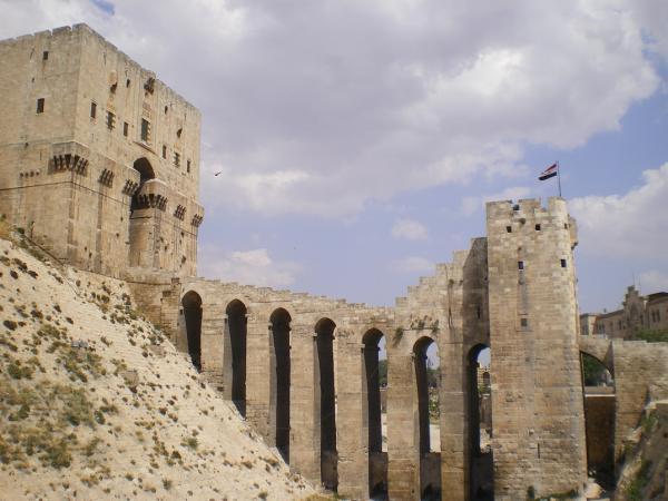 Цитадель в Алеппо
