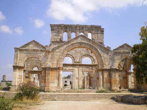 Руины монастыря святого Симеона Столпника