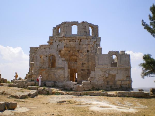 В монастыре святого Симеона Столпника