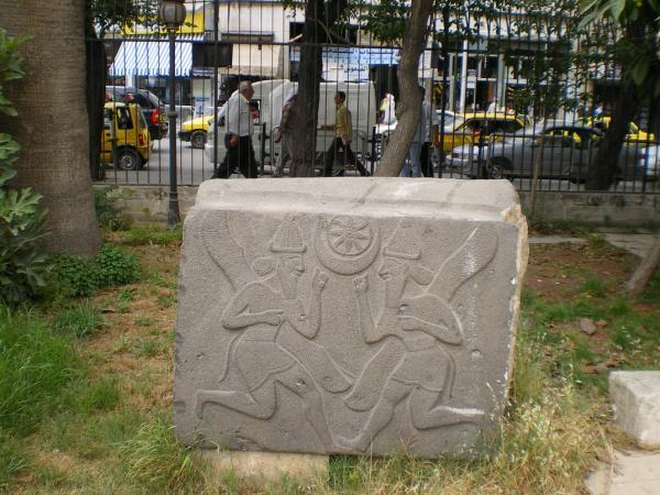 Ассирийский барельеф в Алеппо