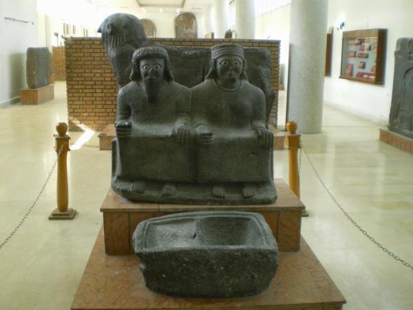 В Национальном музее в Алеппо