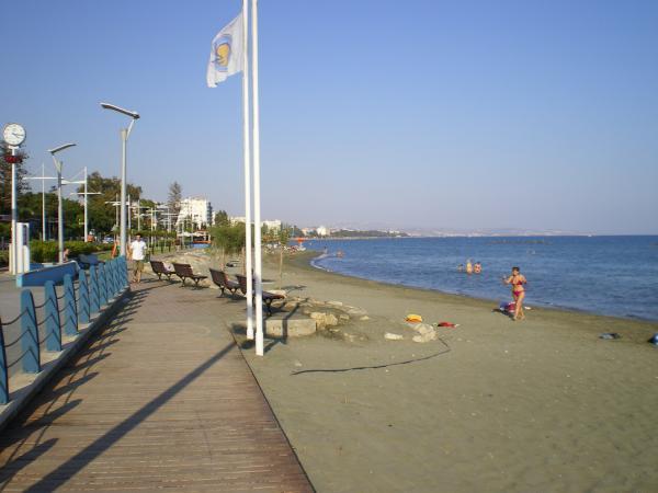 Лимассольский пляж