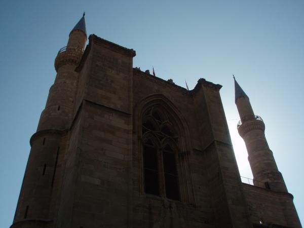 Мечеть Селимие - бывшая Св. София в Никосии