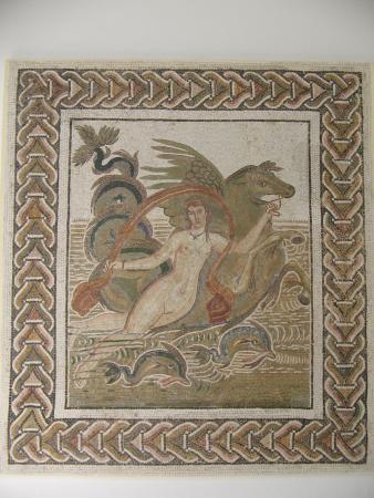Мозаика в Эль-Джеме