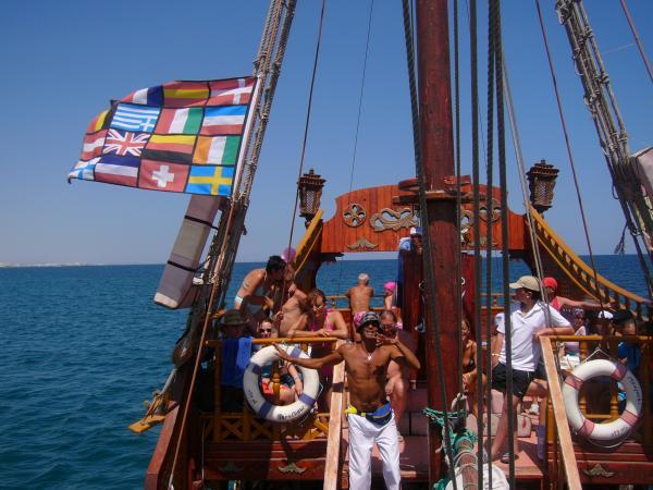 Пиратские танцы