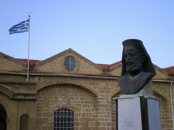 Памятник архиепископу Макариосу