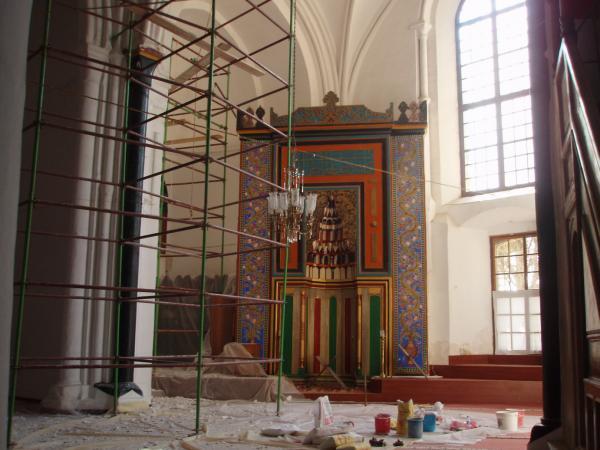В мечети Селимийе, бывшем соборе Св. Софии