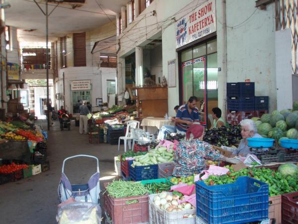 Рынок в турецкой Никосии