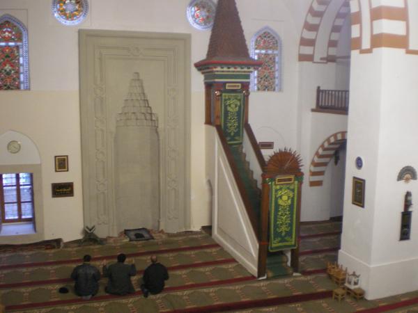 Молитва в Хан-мечети в Евпатории