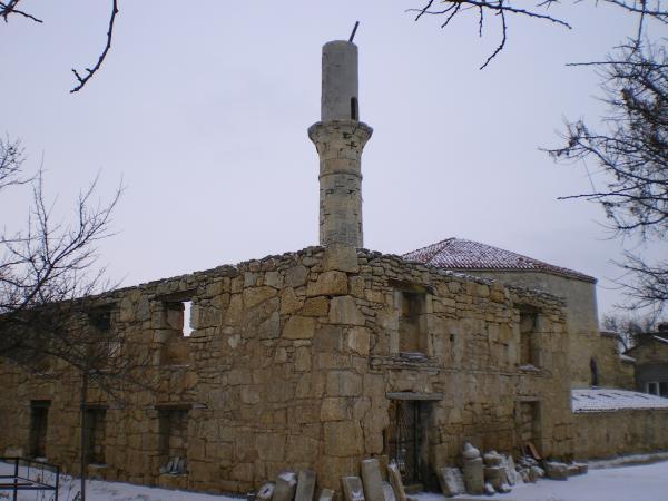 Развалины Джума-джами в Евпатории
