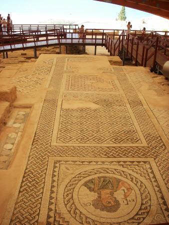 Античная мозаика. Пафос