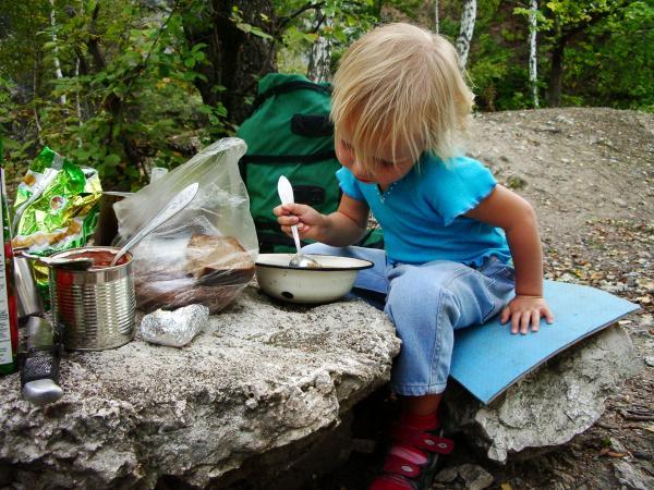 Завтрак туриста!