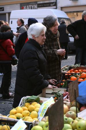 Рынок на Санта Мария деи Фьори