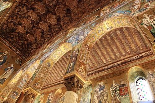Капелла Палатина в Норманнском дворце Палермо