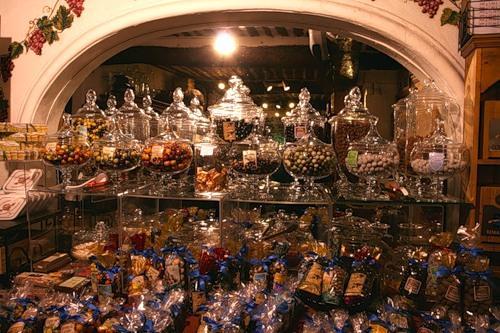 Магазин сладостей в Грассе