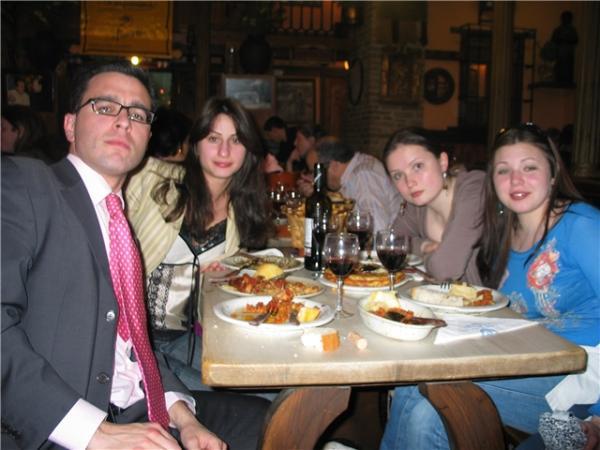 Мадрид-ресторан
