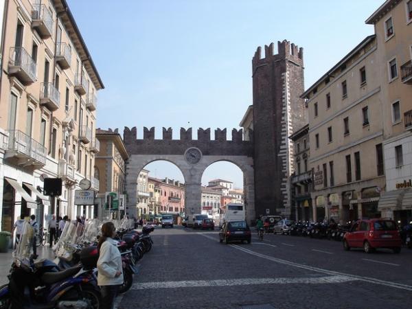 Городские ворота Вероны