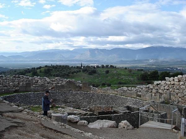 древнее царство микенское