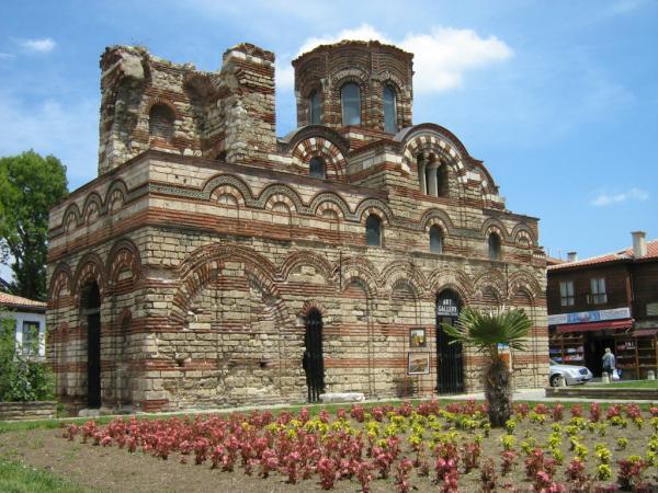 Город-музей Несебр в Болгарии.