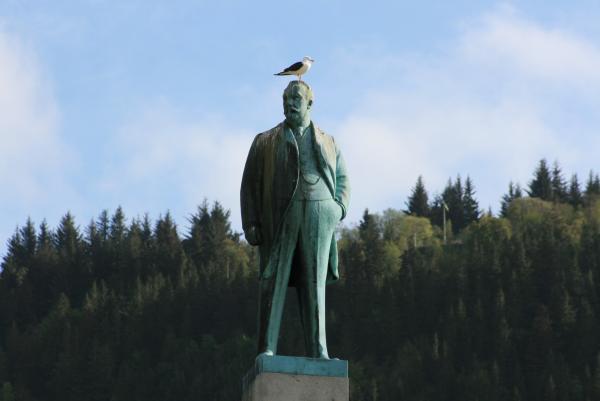 Гордый норвежский мужчина
