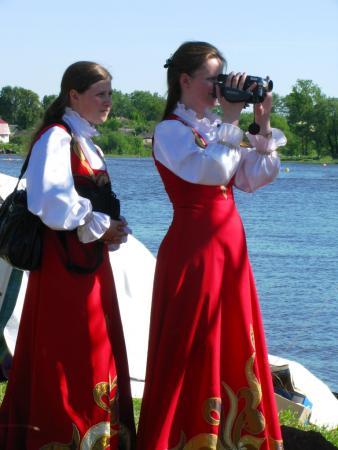 Эти загадочные русские девушки...