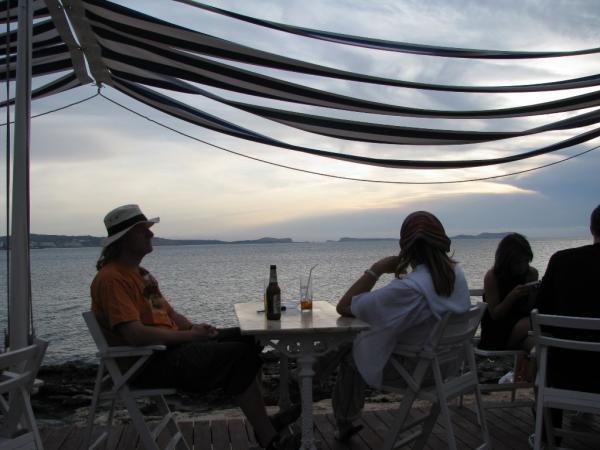 Ибица. Закат в Кафе дель Мар