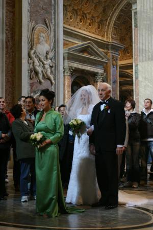 Неравный брак в Ватикане