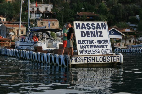 Свежая рыбы и свободный инет, что еще нужно, чтобы встретить старость!?