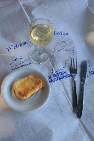 Жареный сыр и вино. Белое, а какое еще!?