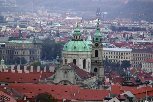 Прага. Вечер