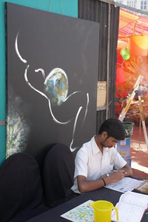 Пресс стол арт - фестиваля