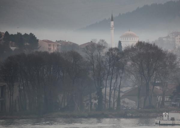 Вид из Европы на Азию. Босфор