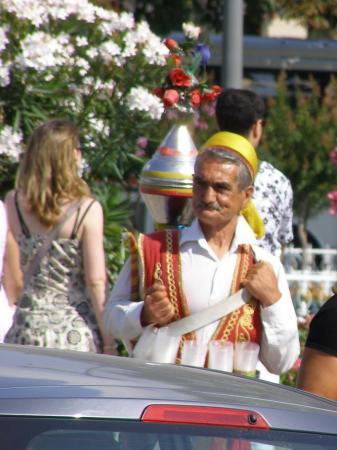 Продавец воды в Стамбуле