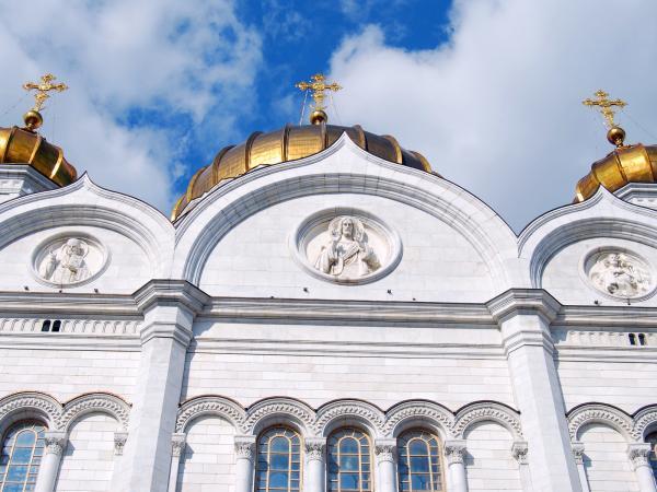 Купола храма Христа Спасителя