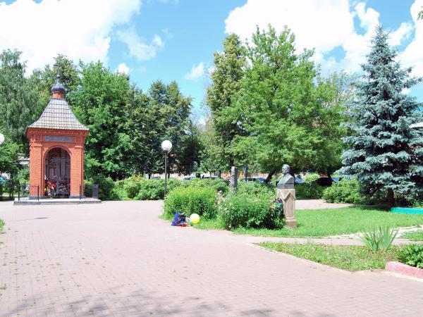 Мемориальный сквер города Верея