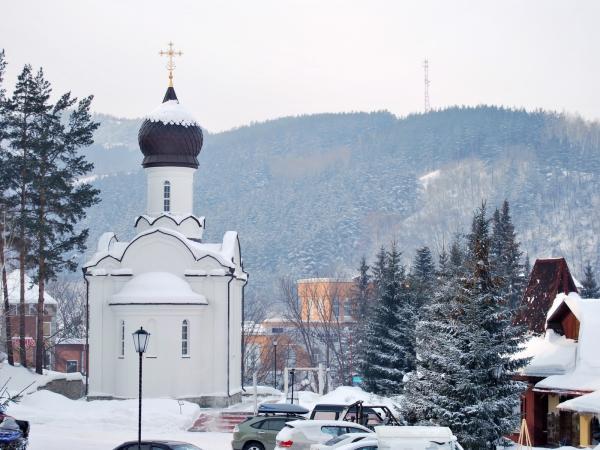 Главный храм города Белокурихи