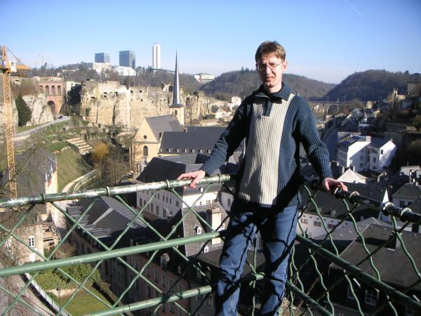 Люксембург  в феврале.