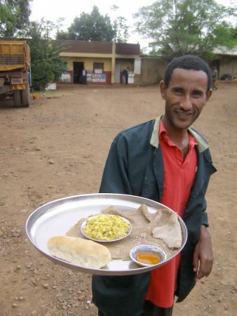 Попробуйте эфиопскую еду