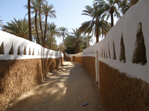 Улочка древнего города Гадамес