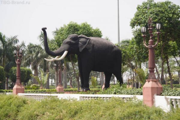 Слон ненастоящий