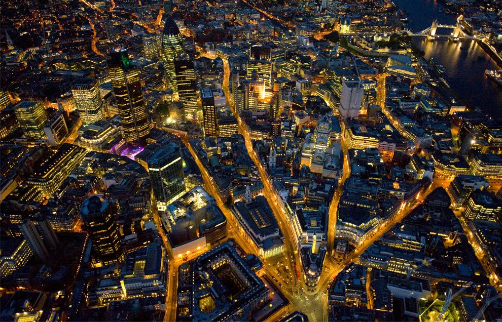 Лондон город туманов и дождей