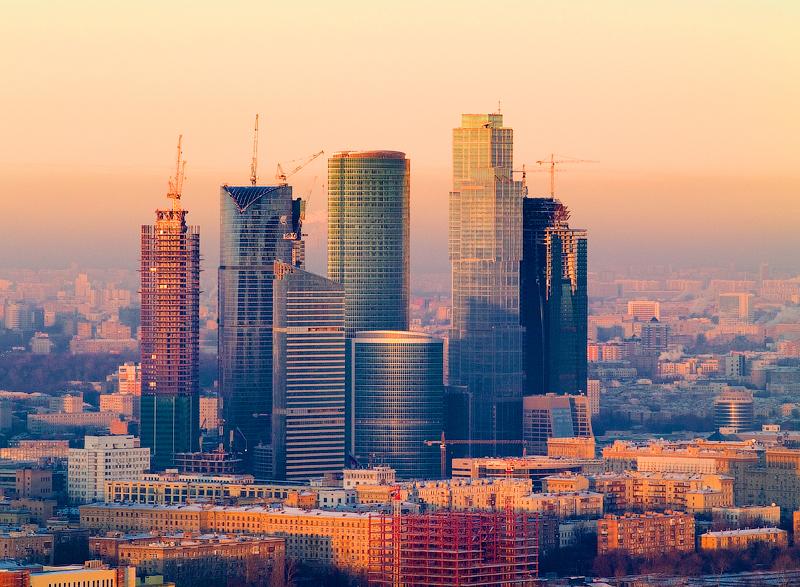 Недосягаемая высота как строили Москва Сити Москва 24