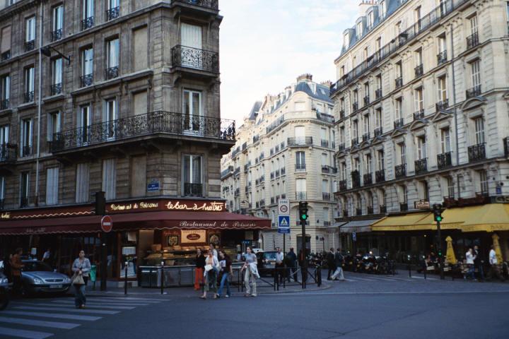 Улицы парижа в помощь туристу