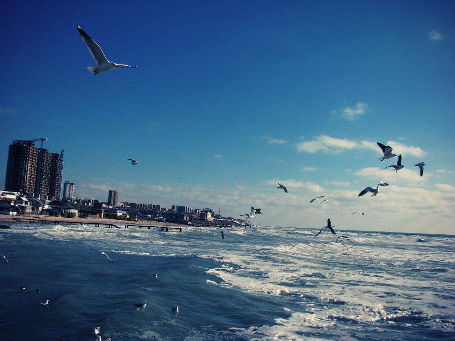 Море хвалийское и хазарское или