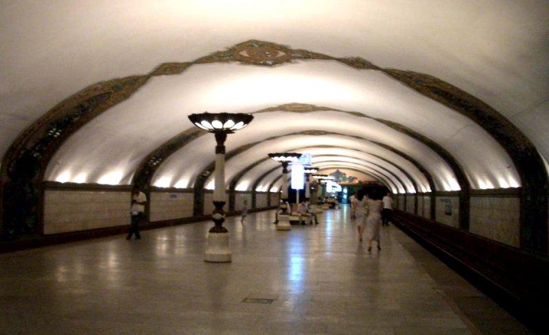 метро ташкента фото