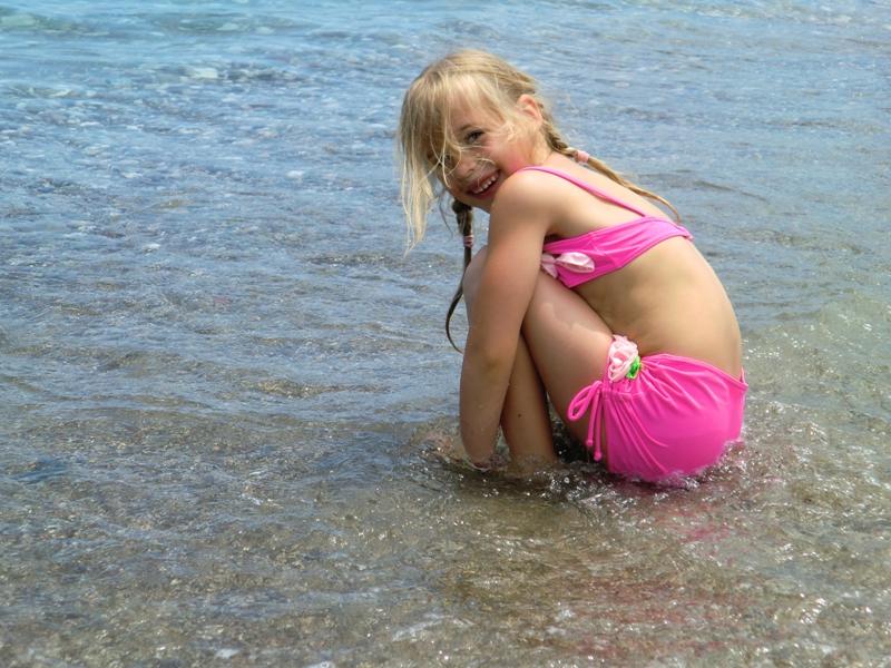 Как маленькая Ира в первый раз на море ездила.
