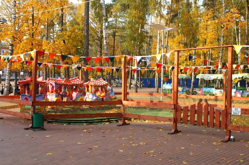 Осень в Балашихе.